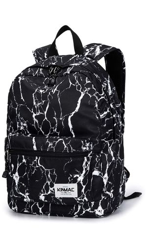 "Kinmac 15.6"" Laptop Backpack, Black Marble for Sale in Kansas City, MO"