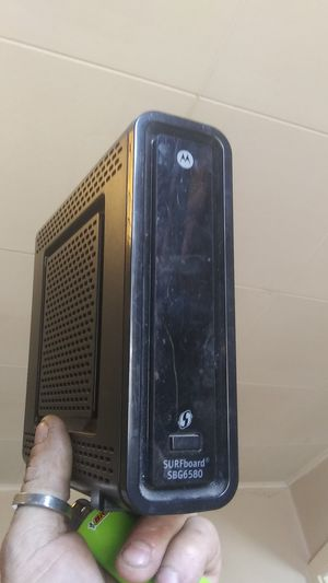 New Motorola arris surfboard modem/wifi router sbg6580 for Sale in Colorado Springs, CO
