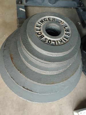 255 lbs olympic weights for Sale in Phoenix, AZ