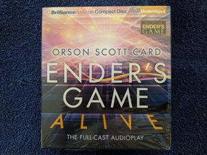 Audiobook - Audio PLAY. Ender's Game Alive for Sale in Phoenix, AZ