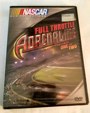 Nascar DVD Collection Full Throttle Adrenaline Vol. 1 & 2 for Sale in Olympia, WA