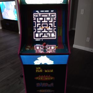 MS PACMAN 1 UP ARCADE GAME for Sale in Queen Creek, AZ