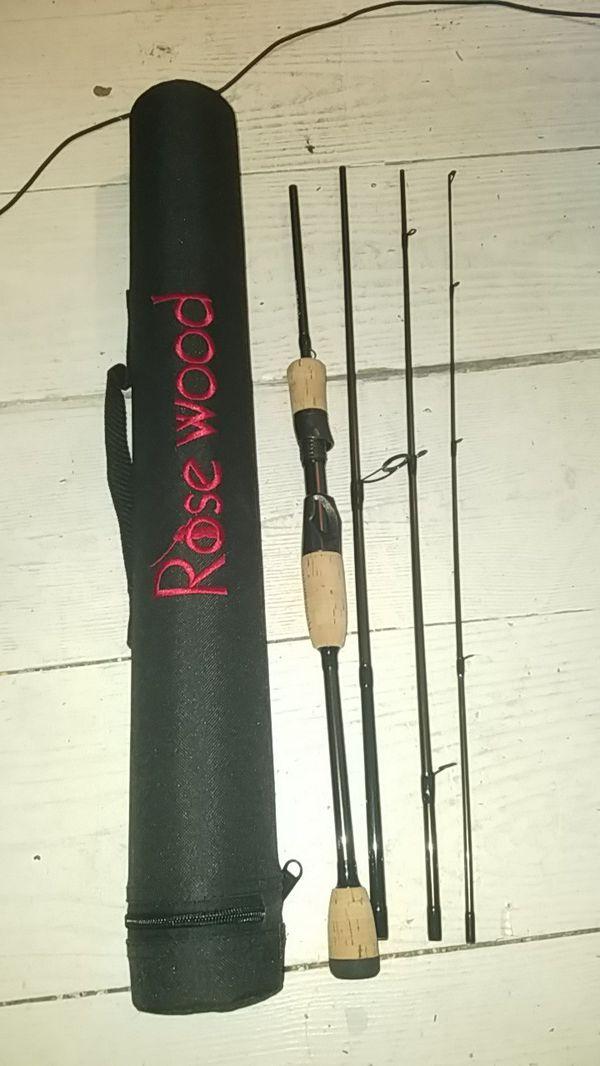 4 piece spinning rod