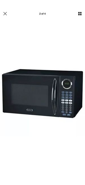 Sunbeam 0.9 Cu.Ft. Microwave Oven - Black - (SGB8901) for Sale in Coto de Caza, CA