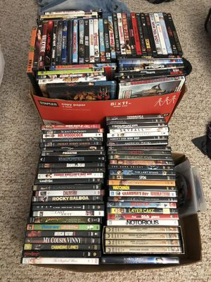 DVDs 140 plus all good movies for Sale in Webster, NY