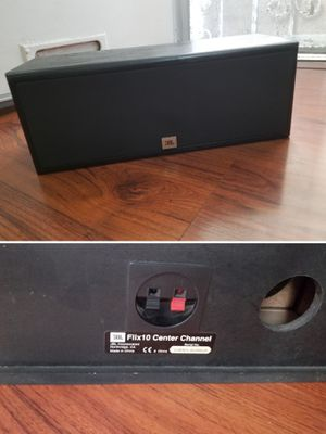 Big JBL center channel speaker for home stereo system for Sale in Long Beach, CA