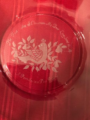Vintage 12 days of Christmas plates for Sale in Carrollton, GA