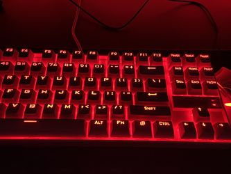 Red Dragons Keyboard And Mouse for Sale in Phoenix,  AZ