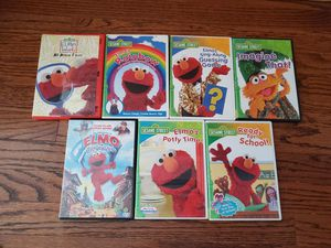 Elmo DVDS for Sale in Naperville, IL