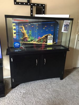 Aquarium set 60 gallons for Sale in Colleyville, TX