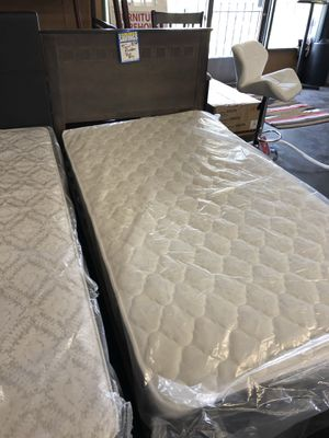 Twin size beds with combo mattress for Sale in Sacramento, CA