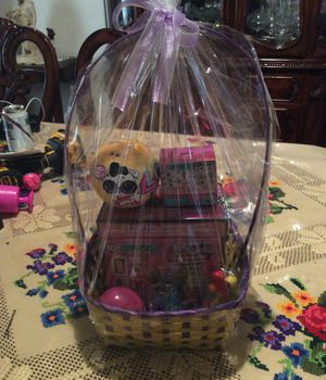 Lol Doll Easter Basket for Sale in Torrance, CA