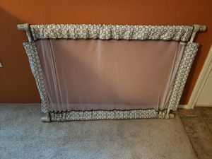 Fabric adjustable baby gate for Sale in Mansfield, TX