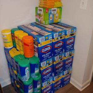 CLOROX LIQUID/ DISINFECTING WIPES for Sale in Germantown, MD