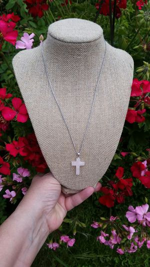 New Sterling Silver Rose Quartz Necklace for Sale in Wenatchee, WA