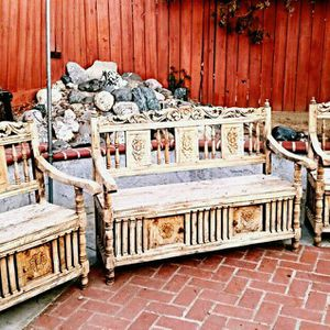Hacienda Mexican Style Patio Furniture. for Sale in Arvin, CA