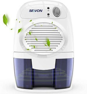 SEAVON Electric Upgraded Dehumidifier for Home, 2000 Cubic Feet (195 sq ft) Portable and Compact 500ml (16 oz) Capacity Quiet Small Dehumidifiers for for Sale in Vienna, VA