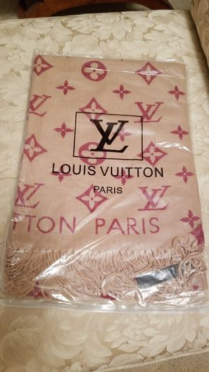Cashmere louis vuitton scarf for Sale in Las Vegas, NV