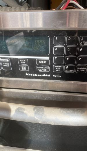 Kitchen aid Superba wall oven microwave combination for Sale in Tempe, AZ