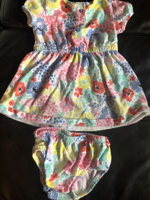 Carter's 12M Dress & Diaper Cover for Sale in Gresham, OR