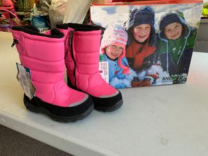 New rain/snow boots pink for Sale in San Jose, CA