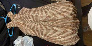 Gold fashion nova dress for Sale in Hazelwood, MO
