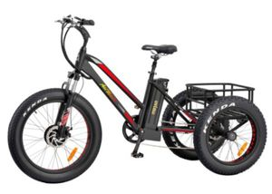 M-350 Fat Tire Electric Trike Bicycle for Sale in Hemet, CA
