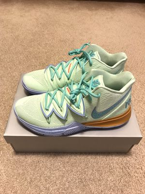 Nike Squidward Tentacles Kyrie Irving 5 Size 10.5 for Sale in Irvine, CA