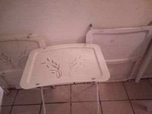 3 folding tabls for $15 for Sale in El Paso, TX