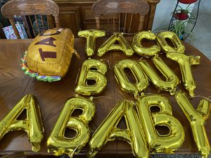 Taco bout a baby balloons for Sale in Stockton, CA