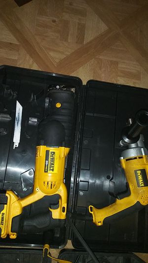 Dewalt hammer drill and saw for Sale in Rochester, MN