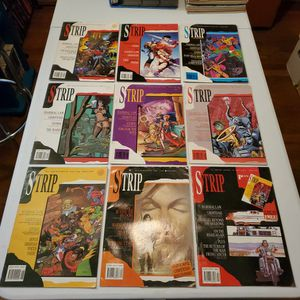 Strip Magazine #1, 2, 3, 4, 5, 6, 7, 8, And 9, Marvel Comics Lot. Grimtoad, Marshal Law, Storm, Thorgal.. for Sale in Fresno, CA