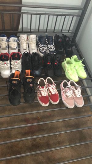 Jordan's & Yeezys & Vans MOSTLY SIZE 6.5-7.5 for Sale in Annandale, VA