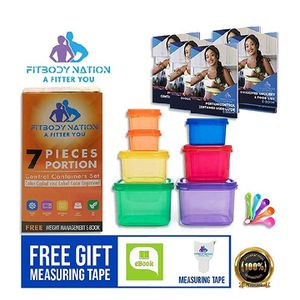 Portion Control Food Containers with measuring spoon for Sale in Cleveland, OH