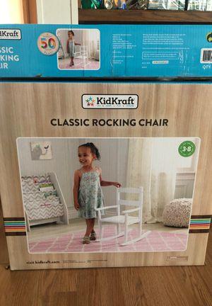 KID KRAFT ROCKING CHAIR $17 NEW for Sale in Wauchula, FL