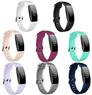 8PCS Inspire HR Bands Replacement for Fitbit Inspire HR/Fitbit Inspire,Comfortable Sport Wristbands for Fitbit Inspire HR Women Men for Sale in Grand Prairie, TX