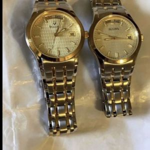$350 Bulova Gold Tone Watches for Sale in Bakersfield, CA
