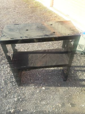 No name brand aquarium stand stand for a toolbox or garage you heavy duty for Sale in Haslet, TX