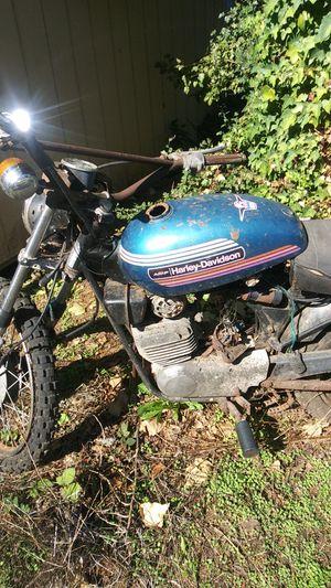 1974- 2 stroke engine 125cc Harley Davidson- Clean Title for Sale in Portland, OR