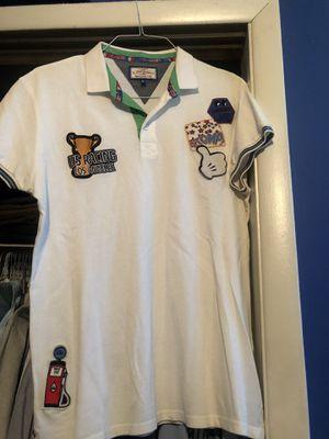 "Black ""Goods"" shirt white polo XL for Sale in Edgewater Park, NJ"