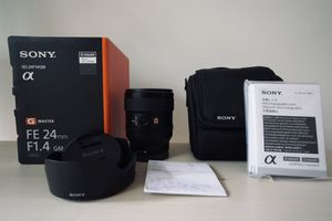 Sony 24mm f1.4 G Master for Sale in West McLean, VA