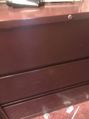 Large filing cabinet easy open draws for Sale in Joelton, TN