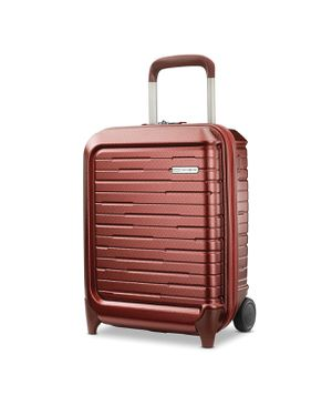 Samsonite Silhouette 16 Hardside Under-Seat Wheeled Carry-On (Cabernet Red) for Sale in Pompano Beach, FL