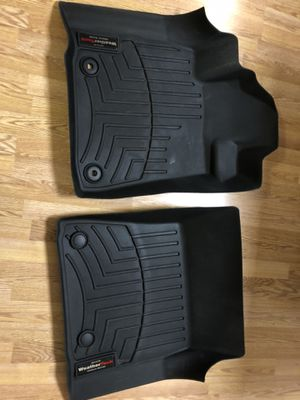 WeatherTech floor liners 2012-2020 Toyota Tundra / Sequoia Black Front 444081 CrewMax Double Cab for Sale in Downers Grove, IL