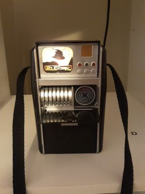 Authentic memorabilia from Paramount Pictures toys Star Trek science officer tricorder collectible for Sale in Garland, TX