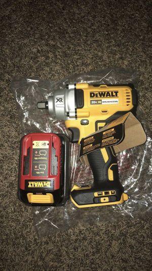 Dewalt Xr 20 volt max 1/2 drive cordless impact wrench for Sale in Nashville, TN
