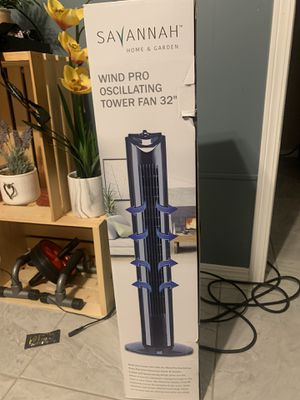 "Tower fan 32"" for Sale in Escondido, CA"