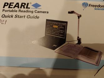 Pearl Portable Reading Camera for Sale in Colbert,  WA