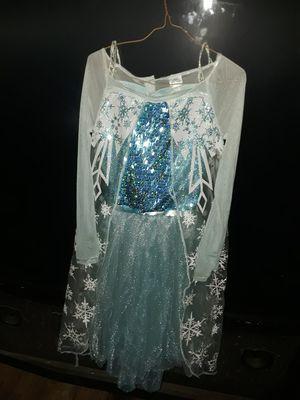Frozen Elsa dress size M girls for Sale in Easley, SC