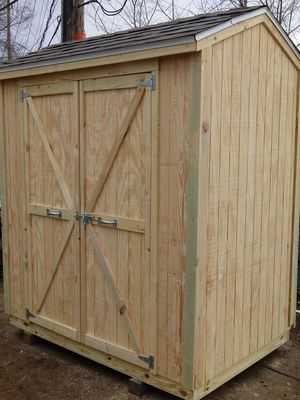 New 4x6 Pine Shed with FREE DELIVERY inside I-270! for Sale in Columbus, OH